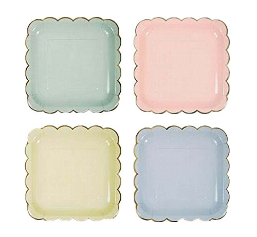 Pack of 8 Beautiful Cake Plates Useful Party/Birthday Accessory