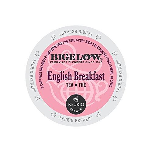 (Bigelow 6080CT English Breakfast Tea K-Cups, 24/box, 4 Box/carton)