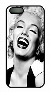 Monroe Black PC Case For Ipod Touch 5 Cover , Customized Monroe Case For Ipod Touch 5 Cover