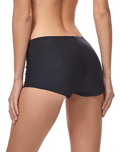 Merry Style Shorts de Bikini para Mujer MSVR7 Negro