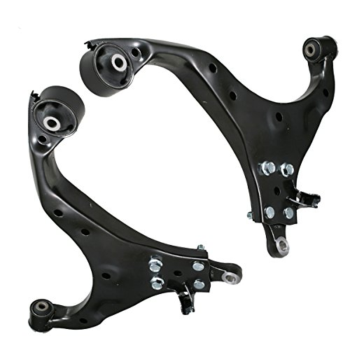 Detroit Axle - New Front Lower Control Arm Assembly - Driver and Passenger Side For - 2005-09 Hyundai Tucson - [2005-10 Kia Sportage]