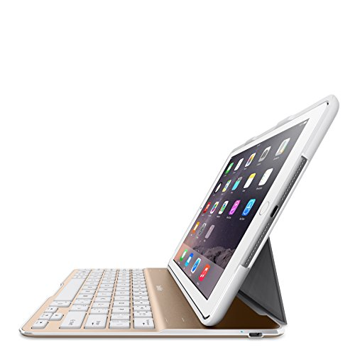 Belkin QODE Ultimate Keyboard Case for iPad Air 2 (White and Gold)