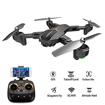 Ocamo Juguete VISUO XS812 GPS RC Drone con cámara de 2MP / 5MP HD ...
