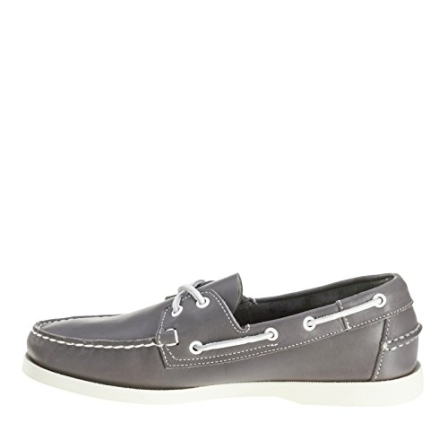 Grey Shoe Boat Leather Sebago Docksides Men's qxtzI8