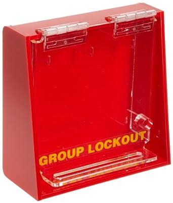 Brady Acrylic Plastic Wall Mount Group Lock Box For