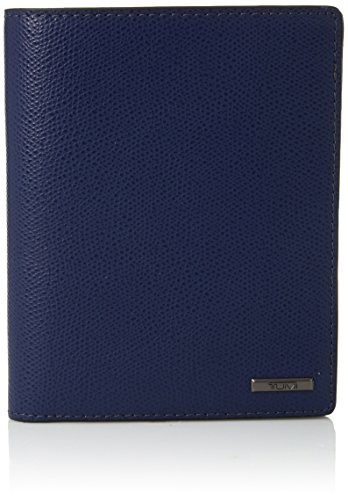 TUMI - Province Passport Case Holder - Wallet for Men and Women - Blue