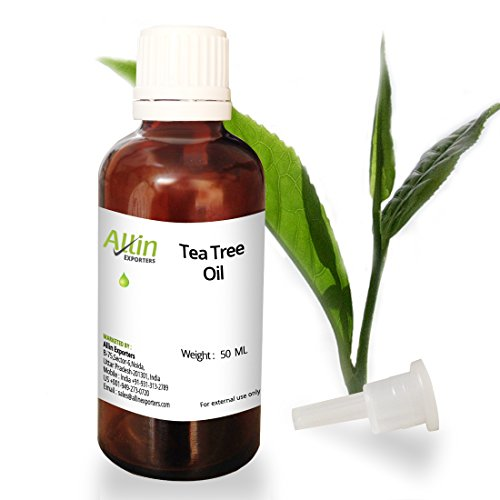 Tea Tree Essential Oil – 50 ML – 100% Pure & A natural way for Skin, Hair and Acne care