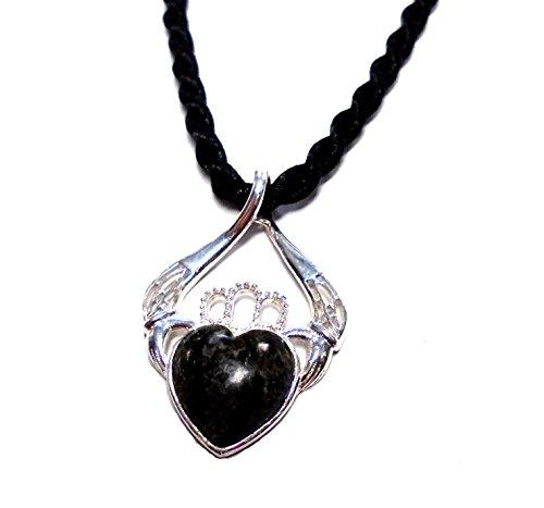 Irish Connemara Marble: Sterling Silver