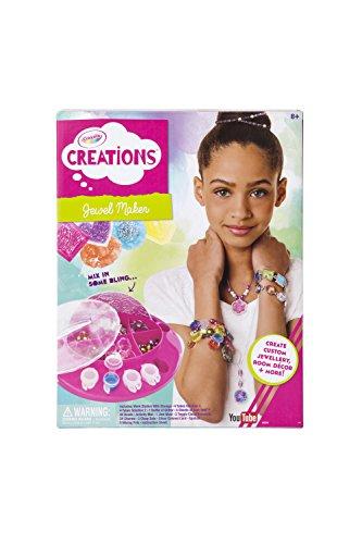 Crayola Jewel Maker, Creative Art Activity, Create Custom Jewelry, Makes a Great Gift