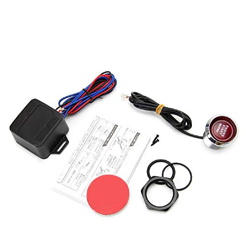 Color : Red VGEBY 12V Car Engine Push Button Start Stop Switch Ignition Starter