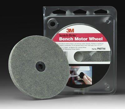 3M (MMM7744) Scotch Brite Bench Motor Wheel