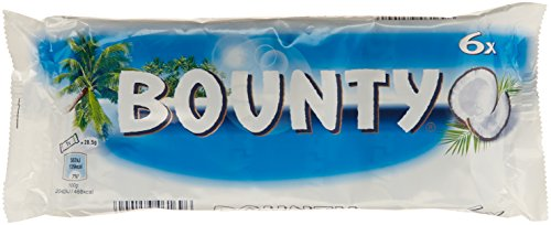 Original Mars Bounty Coconut Filling Enrobed With Milk Chocolate Imported From The UK England British Coconut Chocolate - Bounty Milk Chocolate Bar
