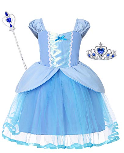 Cinderella Cleaning Costumes - Dormstop Girls Cinderella Dress Little Mermaid