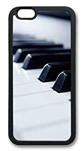 iPhone 6 Cases and Covers - Piano TPU Silicone Case for Apple iPhone 6 4.7inch - Black