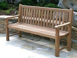 Wonderful Atlanta Teak Furniture   Classic Teak Bench   6u0027 Grade A
