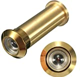 12mm Brass Security Door Viewer Spyhole Peephole Adjustable 160 Degree by AdvancedShop
