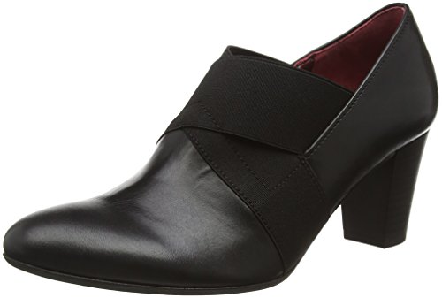 Gabor Shoes Comfort Fashion, Scarpe con Tacco Donna, Nero (Schwarz Fu Rot), 36 EU