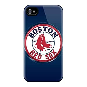 SherriFakhry Iphone 4/4s High Quality Cell-phone Hard Cover Customized Realistic Boston Red Sox Pictures [LXs5719pJAI]