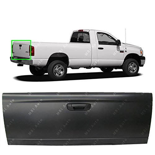 MBI AUTO - Primered Steel, Complete Tailgate Assembly With Hardware for 2002-2008 Dodge RAM 1500 & 2003-2009 Dodge RAM 2500 3500, CH1901199