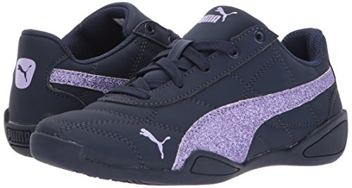 PUMA Girls' Tune Cat 3 Glam Sneaker, Peacoat-Purple Rose, 3.5 M US Big Kid by PUMA (Image #6)