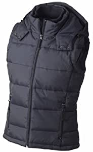 James & Nicholson Women's Jn1005 Quilted Puffa Water Resistant Gilet X-Large Navy
