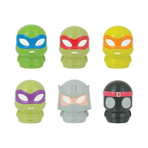 TMNT Teenage Mutant Ninja Turtles LED Micro Lite /Microlites Complete set of 6