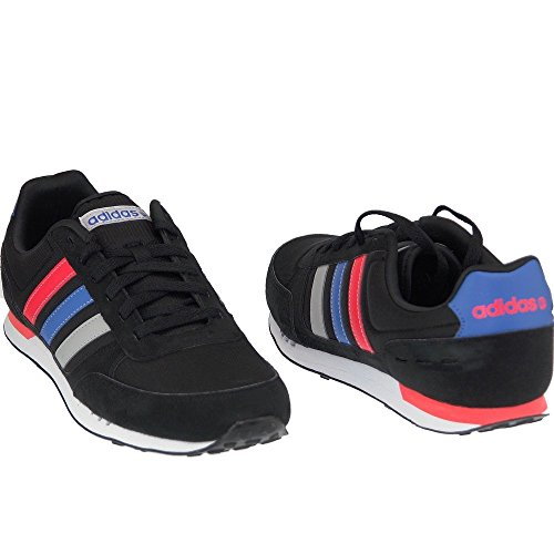 Adidas - Neo City - Color: Negro-Rojo - Size: 46.0 8N1P1ohPiD