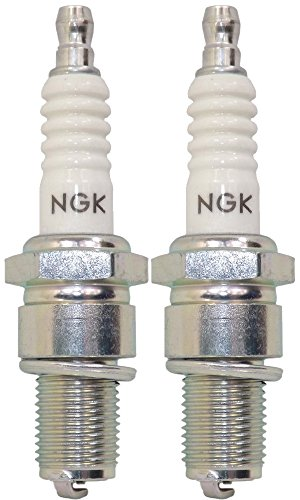 (NGK Spark Plug Bpmr7a for Stihl, Husqvarna, Poulan Power Equipment, and More (Sold in Pair))