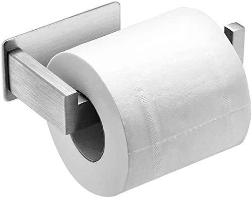 4164jo%2B8q1L Auxmir Toilettenpapierhalter ohne Bohren, WC Klopapierhalter Rollenhalter Papierhalter Klorollenhalter Edelstahl…