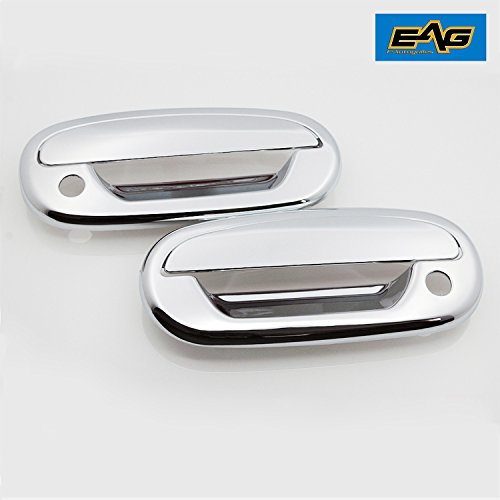 EAG 97-03 Ford F-150/04 Ford F-150 Heritage Door Handle Covers 2pc Triple Chrome ABS