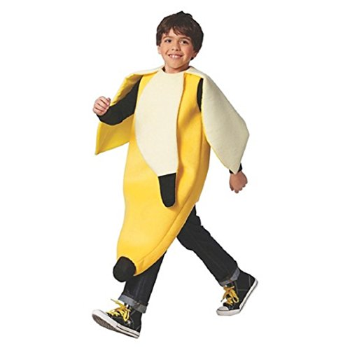 Child's Peeled Banana Costume (S/M)