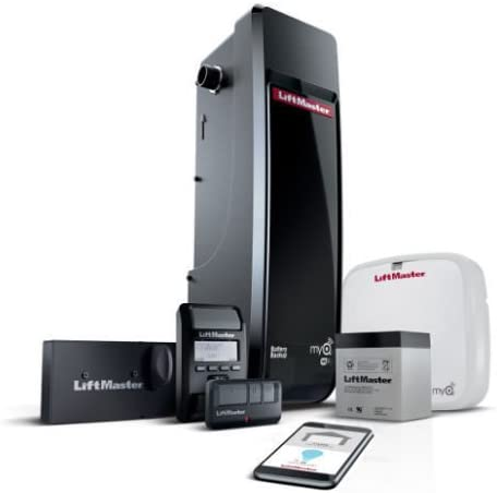 Liftmaster 8500W Jackshaft Garage Opener MyQ enabled wifi and battery installed