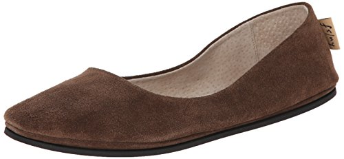 French Sole FS/NY Women's Sloop Ballet Flat - Chocolate S...