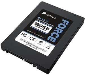 Corsair Force Series 3 180GB  (6Gb/s) SATA 3 SF2200 controller Asynchronous SSD (CSSD-F180GB3-BK)