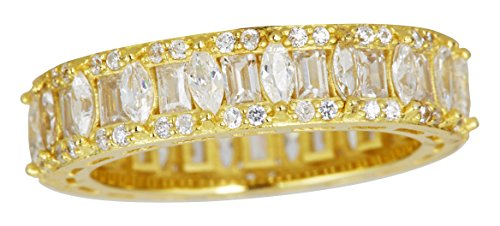 Yellow Gold Baguette Ring - 9