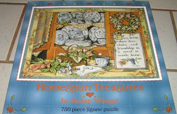 Homespun Treasures Susan Winget Puzzle Ceaco
