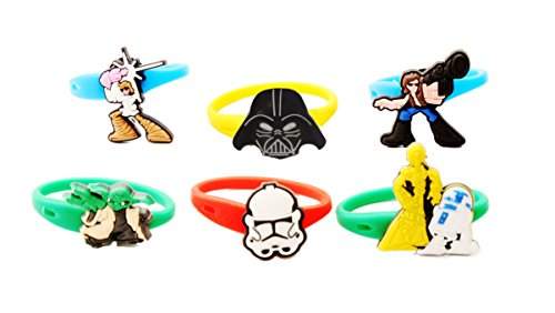 [AVIRGO 6 pcs Colorful Releasable Ponytail Holder Elastic Rubber Stretchable No-slip Hair Tie Set #] (Jedi Costume Images)