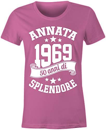 6TN Le Donne realizzate nel 1969 50 Anni di Stupenda Maglietta del 50esimo  Compleanno  Amazon.it  Abbigliamento c6e6eeae453