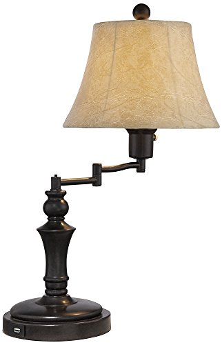 Corey Swing Arm Desk Lamp with USB Port by Regency Hill (Image #3)