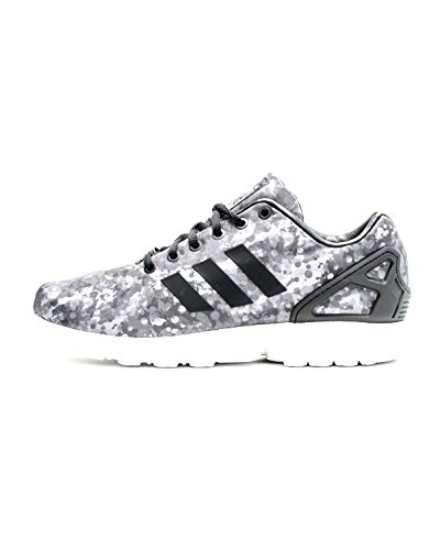 Adidas Mannen Zx Flux Wit Bergbeklimmen Zwart / Grijs / Wit Af6228