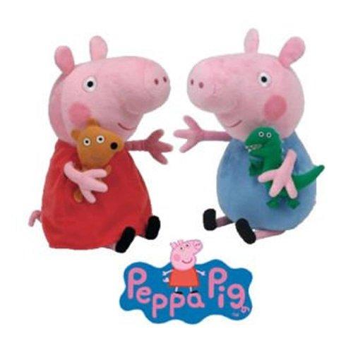 Ty Beanie Babies - Peppa Pig & George Set - 6