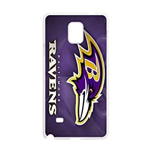 Purple ravens Cell Phone Case for Samsung Galaxy Note4 by runtopwell