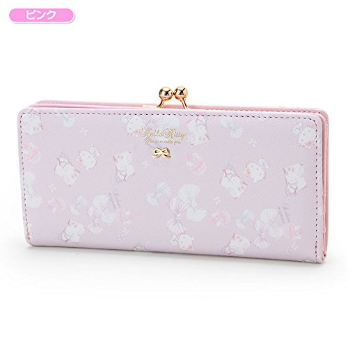 Sanrio Hello Kitty Coin length wallet ribbon pink From Japan New