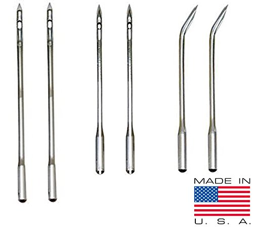 - Leather, Canvas Sewing Awl Needle Refills, Replacement Threads, for Awl for All Stitching Tool - Made in USA
