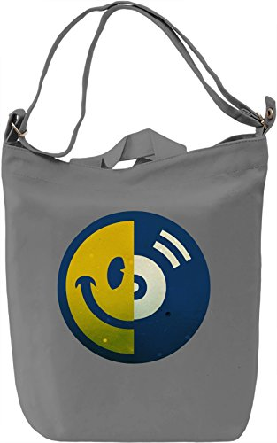 Acid House Borsa Giornaliera Canvas Canvas Day Bag| 100% Premium Cotton Canvas| DTG Printing|