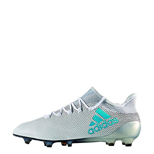 Adidas Mannen X 17,1 Fg Voetbalschoenen, Jaune Fluo / Bleu Marine / Bleu Marine Bianco (ftwbla / Azuene / Gritra)