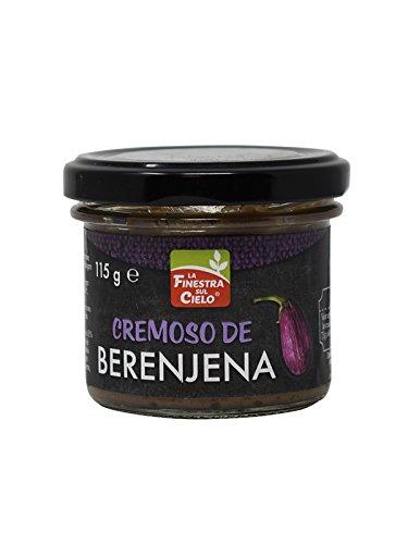 La Finestra Sul Cielo Cremoso berenjena, Salsa para untar - 115 gr.: Amazon.es: Alimentación y bebidas