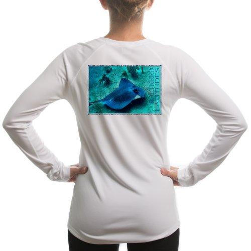 Altered Latitudes Women's Stingray UPF Long Sleeve T-Shirt XX-Large White (Vapor Stingray compare prices)