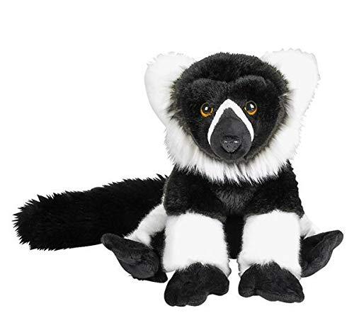 DollarItemDirect 12 inches Heirloom Floppy White Ruffed Lemur, Case of 6