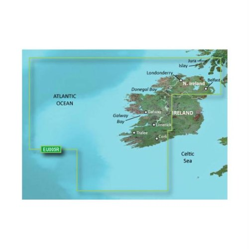 Garmin Bluecahrt G2 - HXEU005R - Ireland West Coast - Micro SD & SD